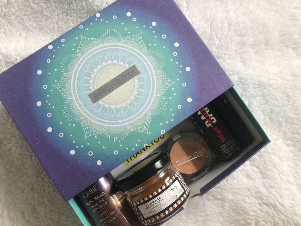 March Birchbox | Beauty and Skincare